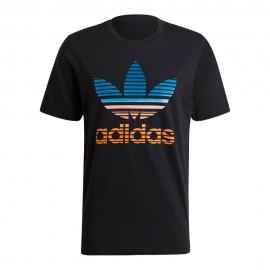 ADIDAS originals t-shirt nero uomo