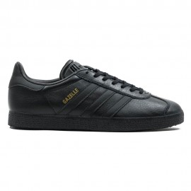 ADIDAS originals sneakers gazelle lea nero uomo