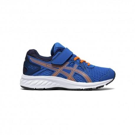 Asics Sneakers Jolt 2 Ps Blu Arancione Bambino
