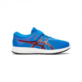 Asics Sneakers Patriot 11 Ps Blu Rosso Bambino