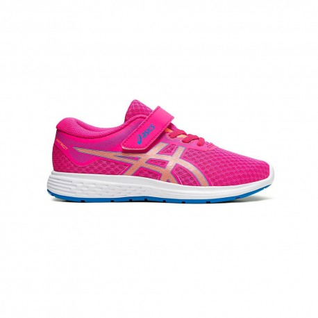 Asics Sneakers Patriot 11 Ps Rosa Rosso Bambina