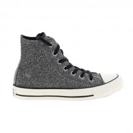 Converse Sneakers Ctas Hi Lurex Grigio Donna