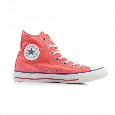 Converse Sneakers Canvas Hi Rosso Uomo