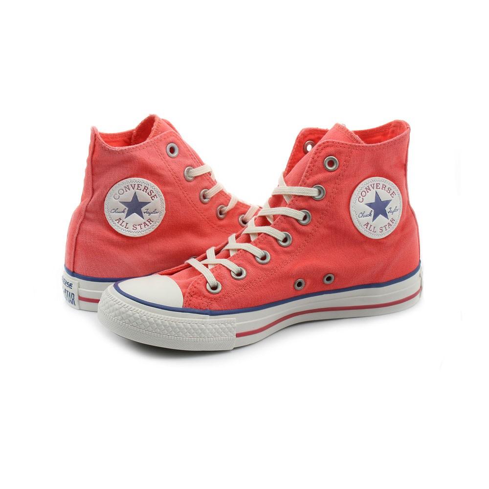 Converse Sneakers Canvas Hi Rosso Uomo - Acquista online su Sportland
