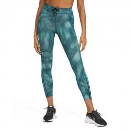 Nike Leggings Running Dvn Epic Verde Argento Donna
