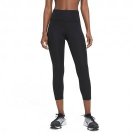 Nike Leggings Running Fast Nero Argento Donna