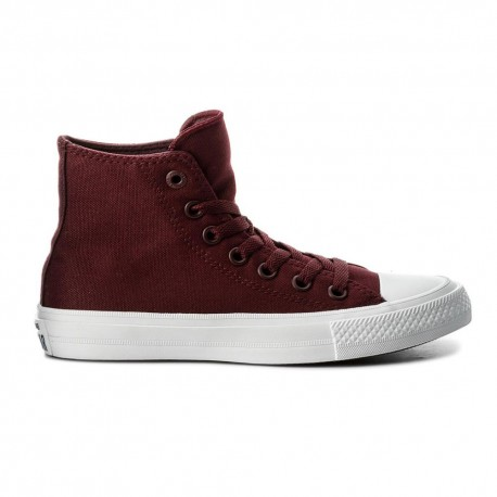 Converse Sneakers Alte All Star Ii Lunar Bordeaux Uomo