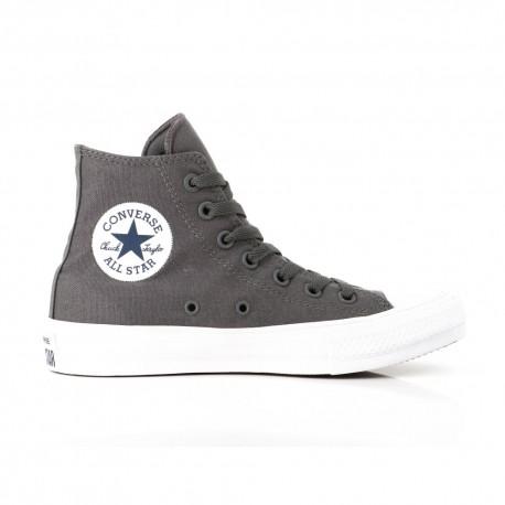 Converse Sneakers Alte All Star Ii Lunar Grigio Bianco Uomo