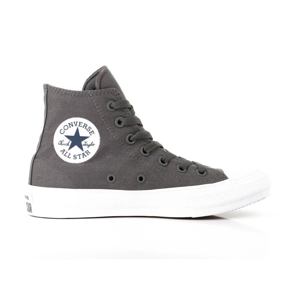 Converse Sneakers Alte All Star Ii Lunar Grigio Bianco Uomo ...