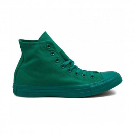 Converse Sneakers Alte Monocrome All Star Canvas Verde Donna