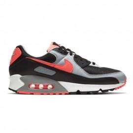 Nike Sneakers Air Max 90 Nero Rosso Uomo