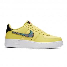 Nike Sneakers Air Force 1 Lv8 3 Gs Giallo Nero Bambino