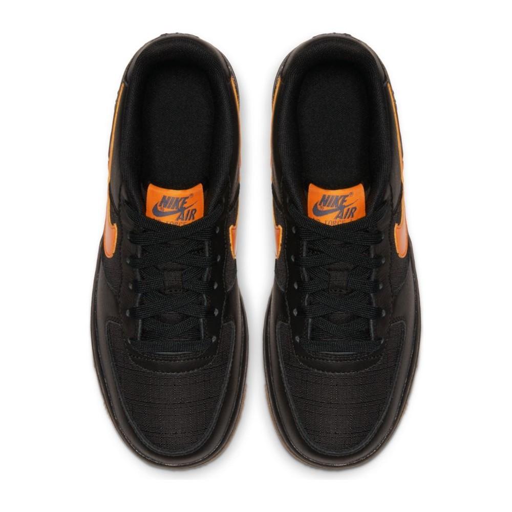 air force 1 nere e arancioni