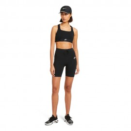 Nike Leggins Running Air Nero Silver Donna