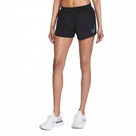 Nike Short Running 10k Icon Clash Nero Blu Donna