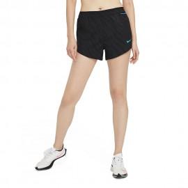 Nike Short Running Tempo Luxe Icon Clash Nero Blu Donna