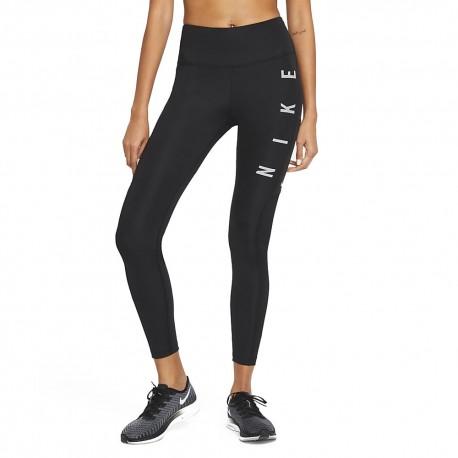 Nike Leggins Running Dvn Epic Fast Nero Grigio Donna