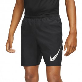Nike Short Running 7in Nero Bianco Uomo