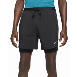 Nike Short Running Hybrid Rn Dvn Nero Grigio Uomo