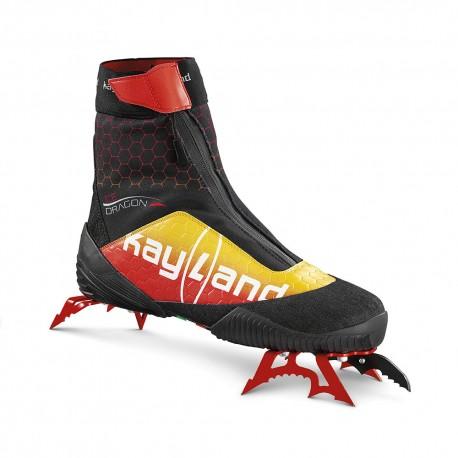 Kayland Scarponi Alpinismo Ice Dragon Rosso Giallo Uomo