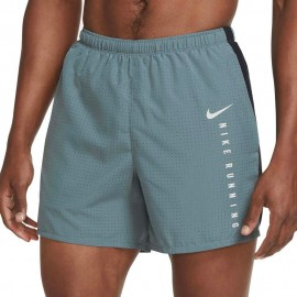 Nike Short Running Dvn 5in Challenger Grigio Nero Uomo