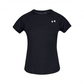 Under Armour Maglia Running Speed Stride Nero Donna