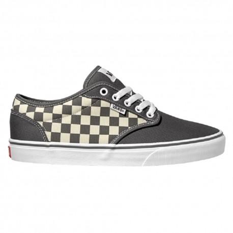 Vans Sneakers Atwood Canvas Grigio Scacchi Uomo