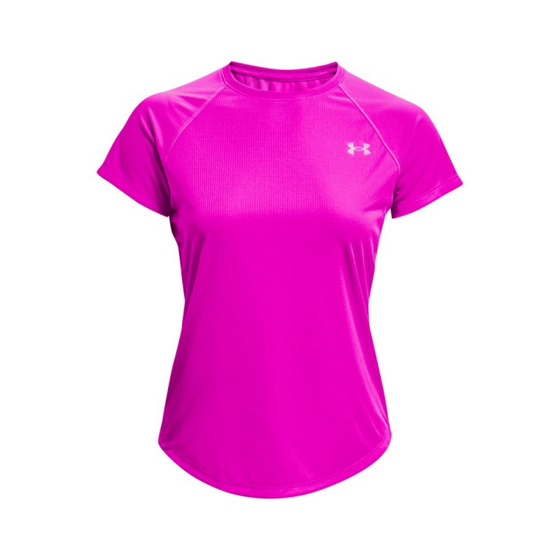 Under Armour Maglia Running Speed Stride Rosa Donna