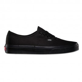 Vans Sneakers Authentic Canvas Nero Donna