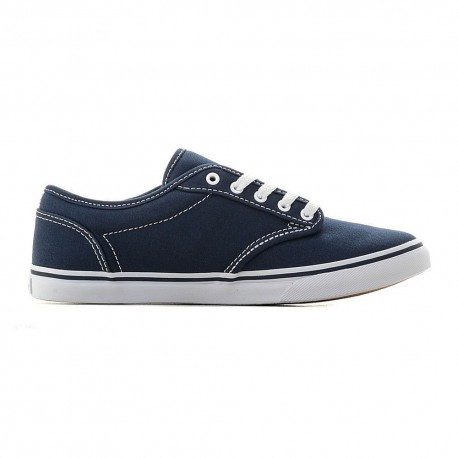Vans Sneakers Atwood Lo Canvas Blu Bianco Donna