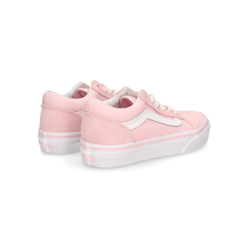 Vans Sneakers Old Skool Rosa Bianco Bambina - Acquista online su ...
