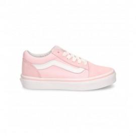 Vans Sneakers Old Skool Rosa Bianco Bambina