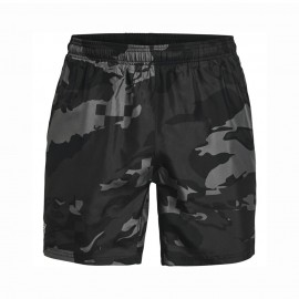 Under Armour Short Running 7in Speed Stride Printed Nero Uomo