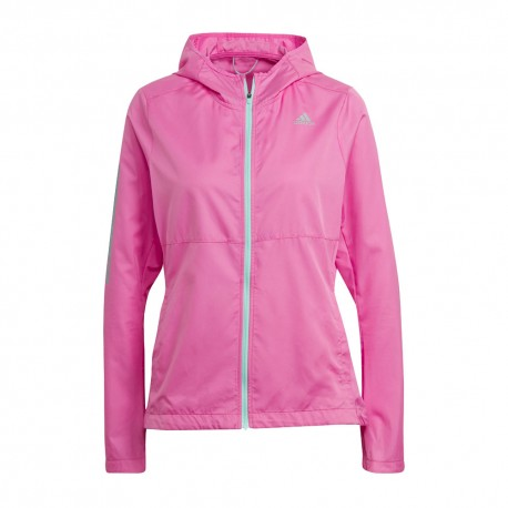 ADIDAS giacca running otr rosa donna