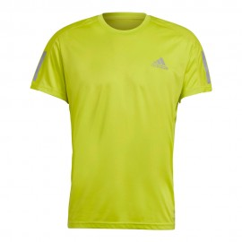 ADIDAS maglia running otr giallo uomo