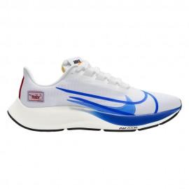 Nike Scarpe Running Air Zoom Pegasus 37 Bianco Blu Uomo