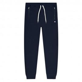 Champion Pantaloni Con Polsino Blu Uomo