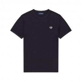 Fred Perry T-Shirt Girocollo Blu Uomo
