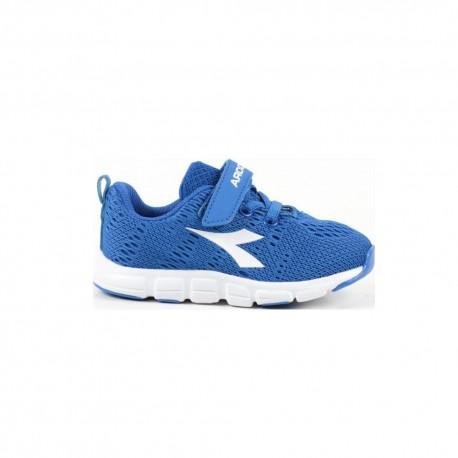 Diadora Sneakers Trama I Td Blu Bianco Bambino