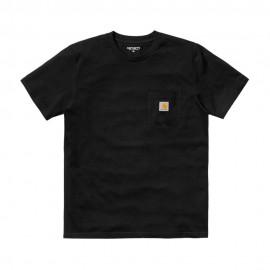 Carhartt T-Shirt Pocket Nero Uomo