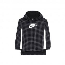 Nike Felpa In Pile Sportswear Nero Bambino