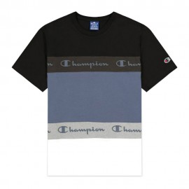 Champion T-Shirt Color Sport Nero Uomo