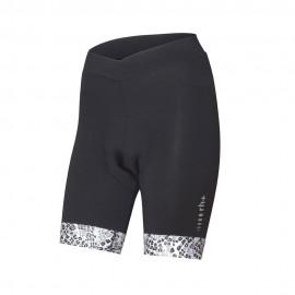 Rh+ Pantaloncini Ciclismo Elite Nero Ghepardo Donna