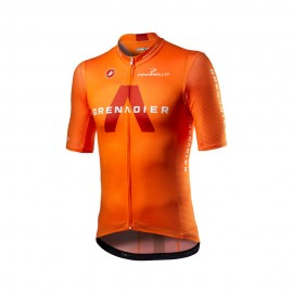 Castelli Maglia Ciclismo Competizione Ineos Grenadiers Arancio Uomo