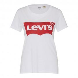Levi's T-Shirt Logo Bianco Donna
