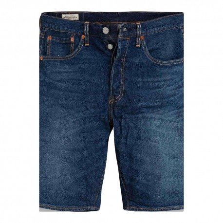 Levi's Shorts Denim Blu Scuro Uomo