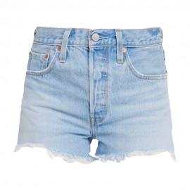 Levi's Shorts 501 Blu chiaro Donna