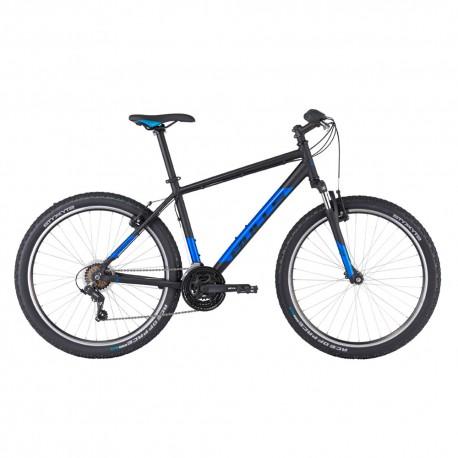 Bulls MTB Mountain Bike Pulsar Eco 27,5 Nero Matt Blu Uomo