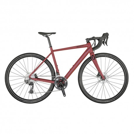 Scott Gravel Bike Contessa Speedster 15 Bordeaux Donna