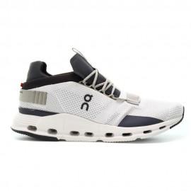 On Sneakers Cloudnova Beige Grigio Uomo